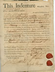Indenture contract