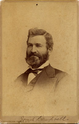 Portrait of James Campbell